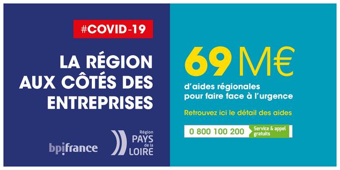 COVID-19 La Région aux côtés des entreprises