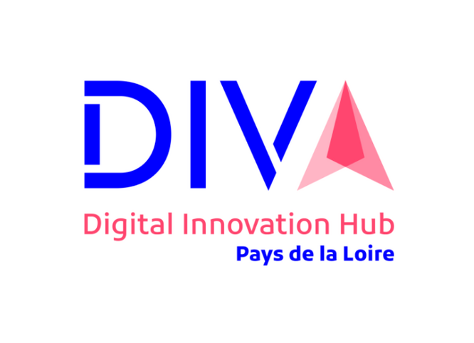 Logo DIVA Digital Innovation Hub Pays de la Loire