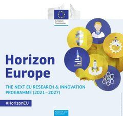 image avec texte : Horizon Europe, the next EU research & innovation programme (2021 -2027) #HorizonEU